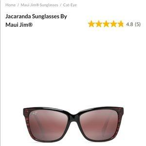 Maui Jim Jacaranda Red Polarized Sunglasses